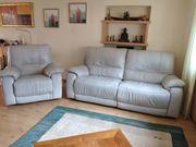 Leder-Sofa 2 5-sitzig Sessel mit