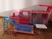 Barbie Puppen Camping Wohnwagen mit