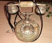 Wähl-Telefon Marmor Italien Retro