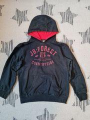 Schwarzer Pullover 152-158