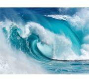 Glasbild When the ocean turns