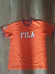 Oranges Fila t-shirt in größe