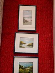 2 Bilder dem Maler Anselm
