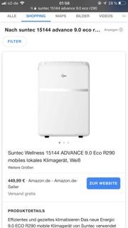 Klimagerät Suntec Advance 15144