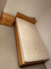 Komplettes Zimmer Massivholz Erle
