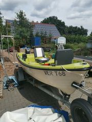 Angelboot mit 15 PS