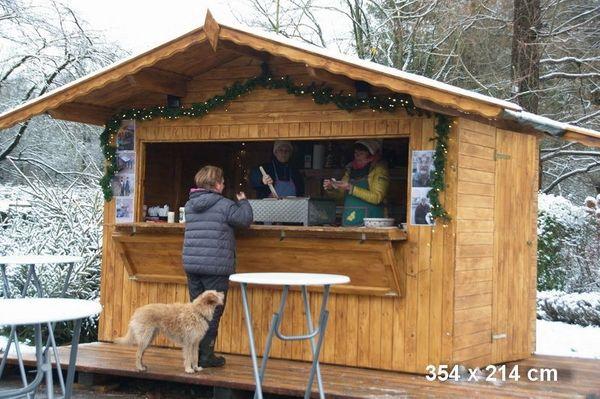 Weihnachtsmarkthütten Markttstand Weihnachtsmarktstand