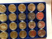 126 Stück 10 Euro Gedenkmünzen