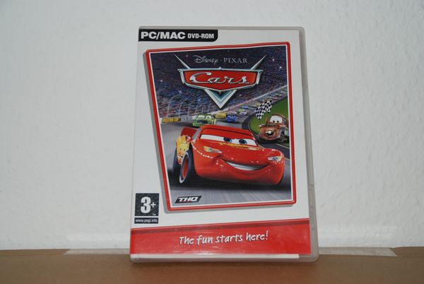 CARs DVD rom mit 30