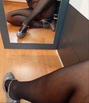 biete getragene nylons an