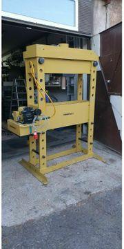 Enerpac Werkstattpresse 100 Tonnen Drücken