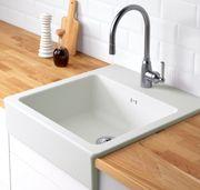 Küchenzeile inkl neuwertiger Spülmaschine Spülbecken