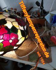 Tiffany Lampen Reparatur Mülheim Bleiverglasung