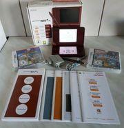 Nintendo DSi XL Konsole Bordeauxrot