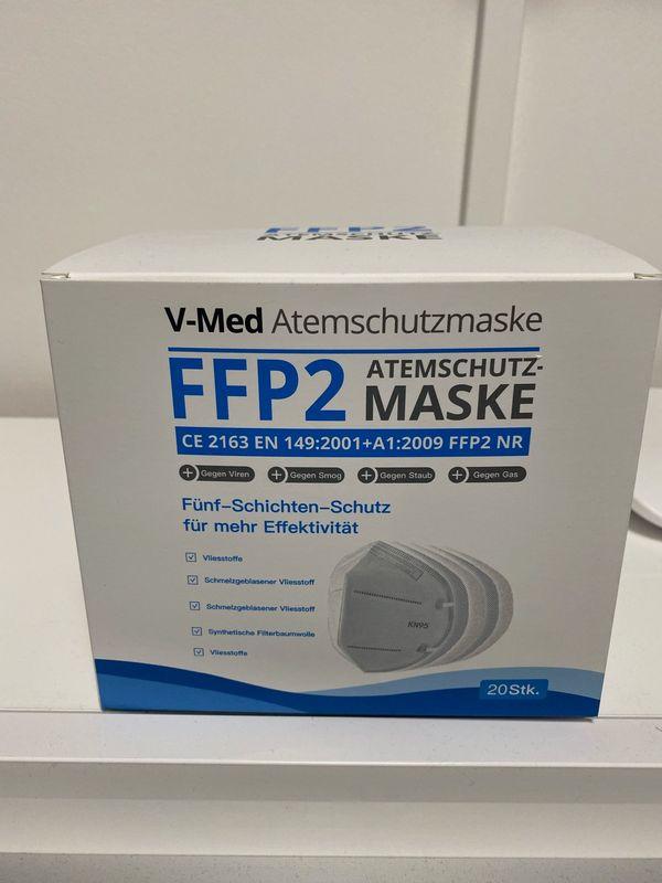 FFP2 MASKE 20 er BOX