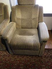 3-Sitzer Sofa Sessel Sessel Liegesitz