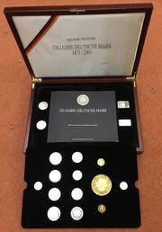 Münzkollektion 130 Jahre Deutsche Mark