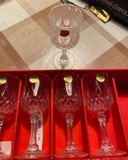 Gläser Longchamp aus Kristallglas