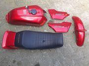 LACKSATZ Rot Metallic Honda CB