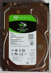 6 TB Seagate BarraCuda ST6000DM003