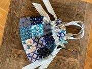 Malerische Patchwork Tasche Beutel Handtasche
