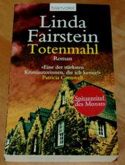 Buch Totenmahl von Linda Fairstein -
