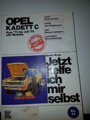 Opel Kadett C Buch Jetzt