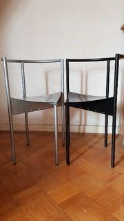 80er-Jahre Designer-Stühle Paar