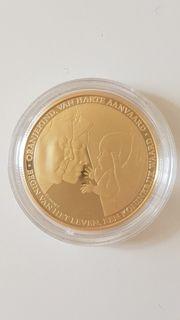 Goldmünze Niederlande Amalia Geburt Gold