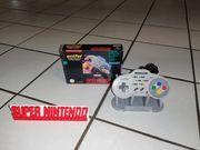 Super Nintendo - SNES - AsciiPad mit