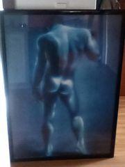 Bild Nackter Mann 75 cm