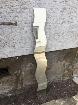 Dekoartikel - Wellenspiegel Wandspiegel Spiegel