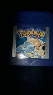 Gameboy Pokemon Blue Edition Sammlerstück