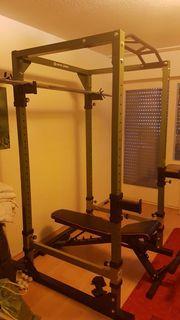 Power Rack Kraft- und Fitness
