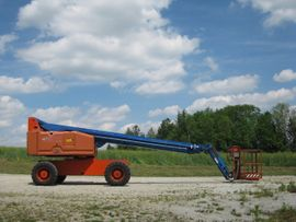 Sonstige Nutzfahrzeuge - Arbeitsbühne Genie S65 Teleskop S65 - Allrad