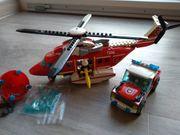 Lego City Feuerwehr-Helikopter 7206 Top