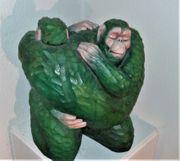 Skulptur Affen
