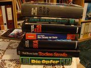 6 hochspannende kriminalistische Fach- Bücher