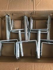 Pfostenträger U-Form 121 mm