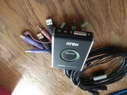 KVM Switch 2-Port Aten CS682