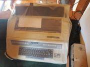 alte elektrische Schreibmaschine