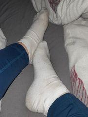 verkaufe getragene Socken Fussbilder