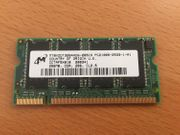 Micron MT8VDDT3264HDG-265C3 SO Dimm - 256MB
