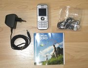 Nokia 6030 Silber Handy