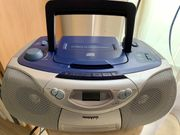 Philips tragbarer CD-Player AZ1004
