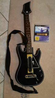 Guitar Hero live mit Gitarre