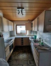 Küchenzeile in U-Form