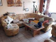 Polstergarnitur Wohnlandschaft Couch inkl 2