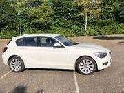 BMW 116i -weiß - gepflegter Zustand -