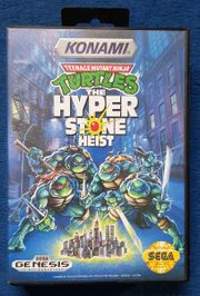 Turtles The Hyperstone Heist Sega